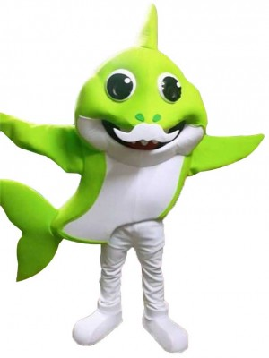 PinkFong Green Grandpa Baby Shark Disfraz de mascota