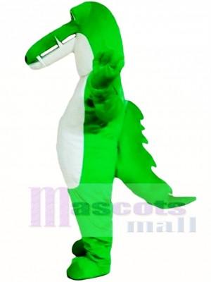 Cocodrilo verde Disfraz de mascota