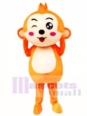 Mono de dibujos animados Disfraz de mascota