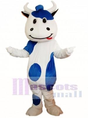 Ganado azul Disfraz de mascota