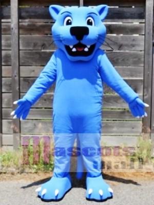 Leopardo pantera azul Disfraz de mascota