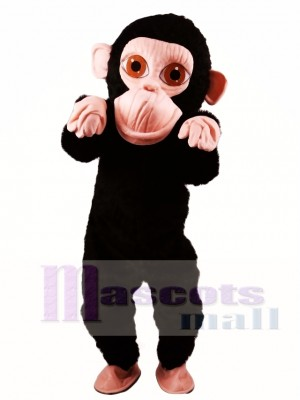Mono chimpancé gorila Disfraz de mascota