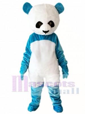Panda azul Disfraz de mascota