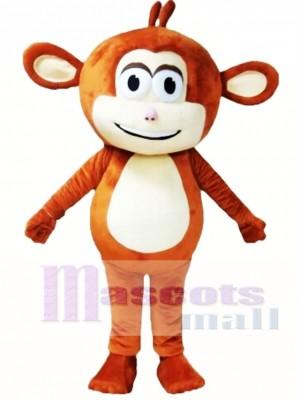 Mono marrón Disfraz de mascota