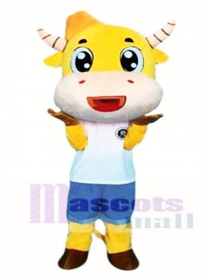 Vaca de dibujos animados Disfraz de mascota