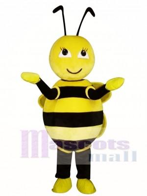 Linda abejita amarilla Disfraz de mascota