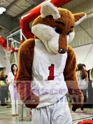 Baloncesto Deporte Fox Disfraz de mascota