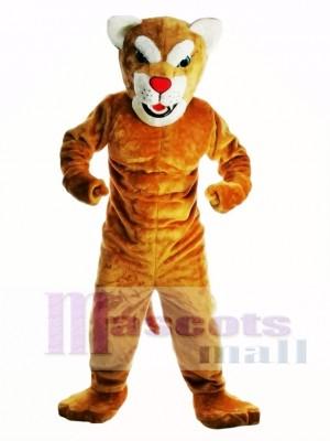 Nuevo leopardo poderoso Disfraz de mascota
