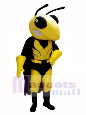 Abeja heroica Disfraz de mascota