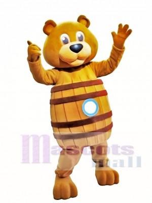 Oso de barril Disfraz de mascota