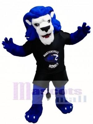 Animal León Azul Disfraz de mascota