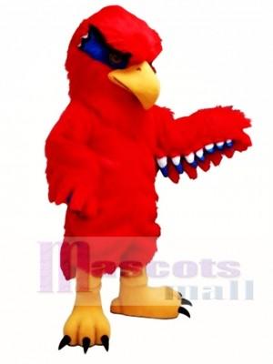 Nuevo Red Hawk Disfraz de mascota