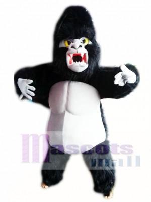 Gorila negro Disfraz de mascota