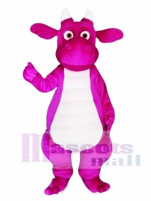Dragón adulto púrpura Disfraz de mascota