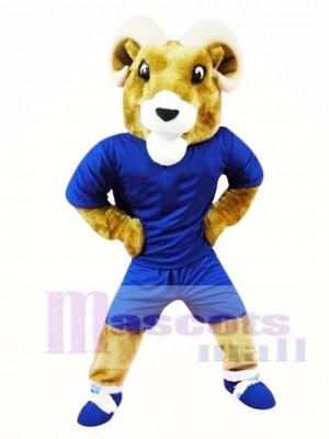 Ram deportivo para adultos Disfraz de mascota