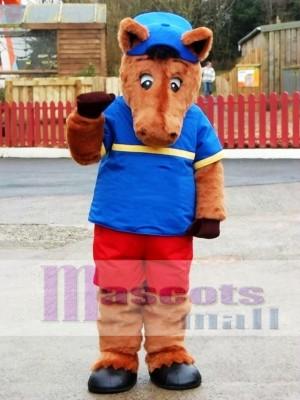 Henry Horse Mascot CostumeLindo caballo Henry Disfraz de mascota