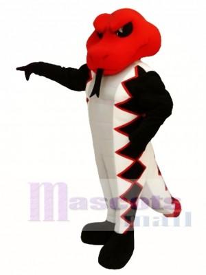 Cobra roja Disfraz de mascota