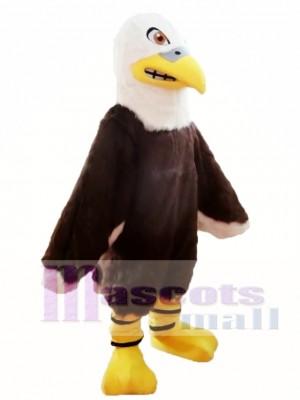 Águila peluda Disfraz de mascota