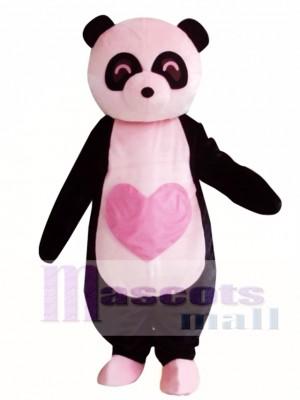 Panda rosa Disfraz de mascota