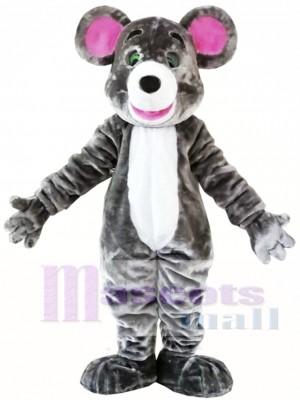 Ratón gris Disfraz de mascota