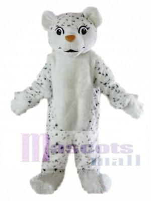 Leopardo de las nieves personalizado Disfraz de mascota