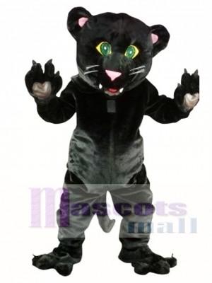 Pantera negra amistosa Disfraz de mascota