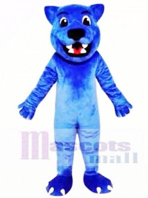 Pantera Linda Leopardo Azul Disfraz de mascota