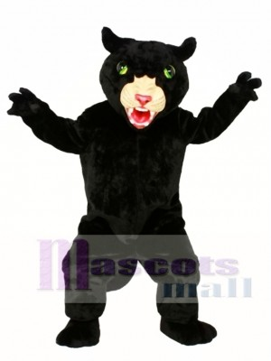 Pantera de gato grande Disfraz de mascota