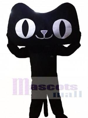 Gato negro Disfraz de mascota