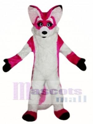 Fursuit Pink Fox Disfraz de mascota
