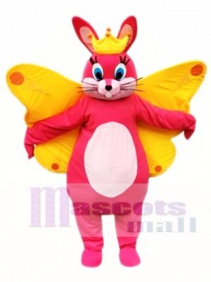 Conejito de pascua mariposa Disfraz de mascota