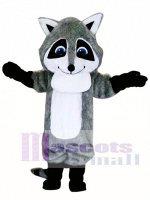 Lindo mapache gris Disfraz de mascota