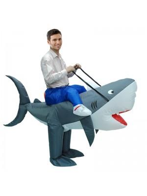 Tiburón Traje inflable