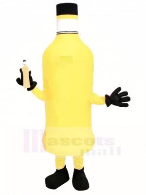 Botella naranja Disfraz de mascota