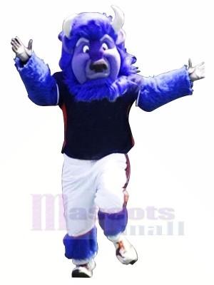 Toro Azul Fuerte Disfraz de mascota