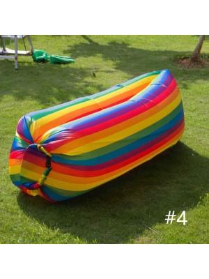 Bolsa de frijoles inflable Sofá Silla Saco de dormir al aire libre