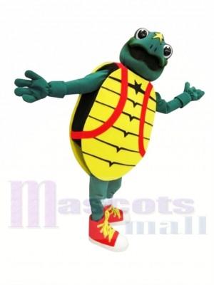 Tortuga Hosp para niños Disfraz de mascota