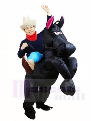 Vaquero, vaquera Traje inflable