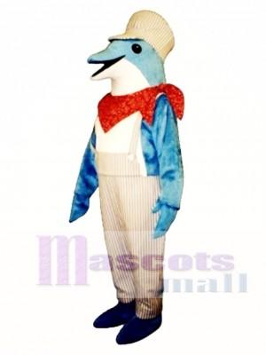 Lindo, ingeniero, delfín Disfraz de mascota