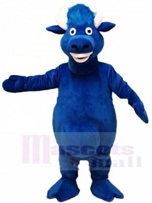 Lindo, toro azul Disfraz de mascota