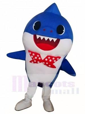 Cute PinkFong Blue Baby Shark Disfraz de mascota