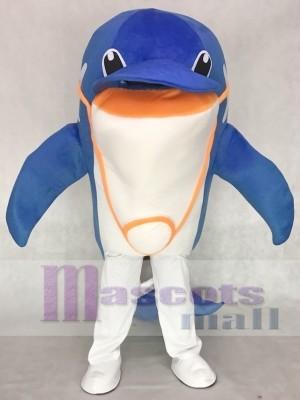 Delfín azul adulto Disfraz de mascota