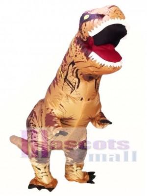 Dinosaurio tiranosaurio Traje inflable