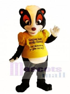 Camisa amarilla Stella the Safety Skunk Disfraz de mascota