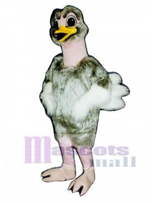 Avestruz realista lindo Disfraz de mascota