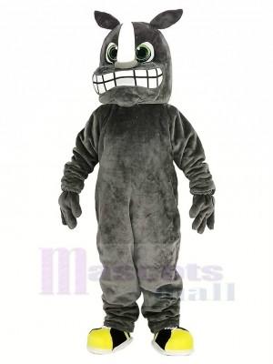Rinoceronte gris Disfraz de mascota