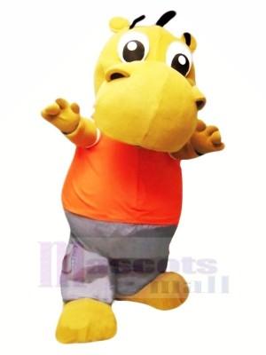 Pequeño hipopótamo lindo Disfraz de mascota