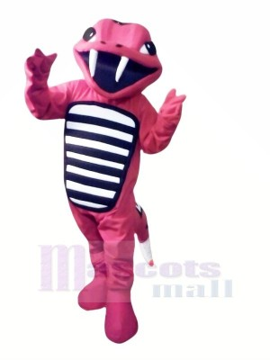 Rattler rojo ligero Disfraz de mascota