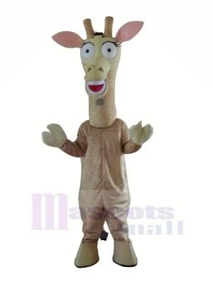 Linda jirafa Disfraz de mascota