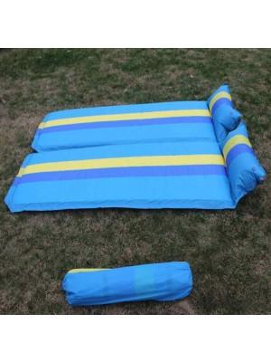 Cama inflable al aire libre para acampar, colchoneta para dormir